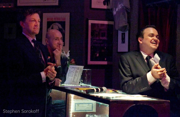 Jim Caruso, Gianni Valente and William Blake at Colleen McHugh Plays Birdland