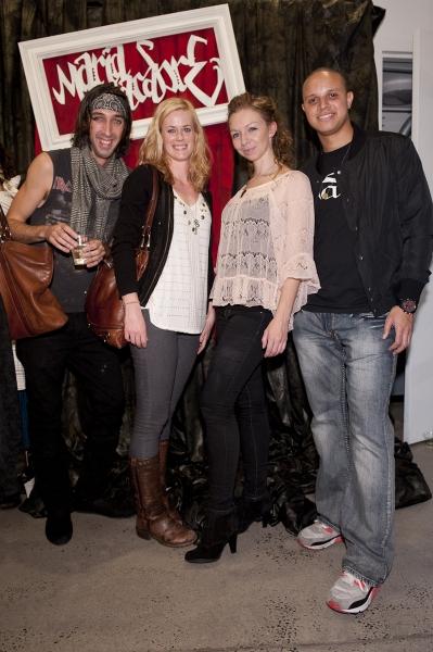 RKP Theater Ensemble members Michael Porsche, Abigail Hawk, Megan O'Connor, & Rob Richardson