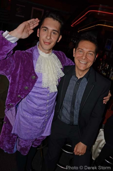 Photo Flash: Lindsay Pearce, Drake Bell, et al. at Jim Caruso's CAST PARTY
