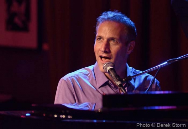 Jim Brickman at Lindsay Pearce, Drake Bell, et al. at Jim Caruso's CAST PARTY