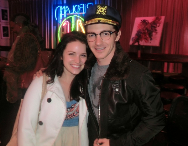 Lindsay Pearce, Drake Bell at Lindsay Pearce, Drake Bell, et al. at Jim Caruso's CAST PARTY