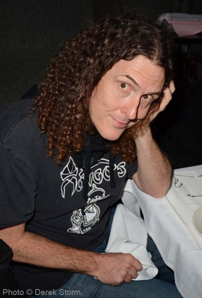 Weird Al Yankovic at Lindsay Pearce, Drake Bell, et al. at Jim Caruso's CAST PARTY