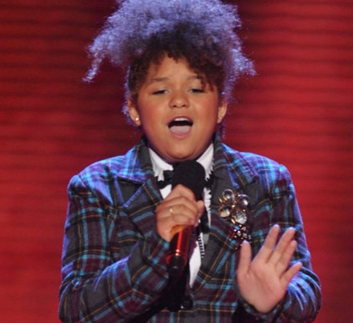 Rachel Crow at 12 Finalists Are Chosen on THE X FACTOR