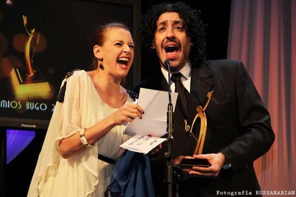 Laura Azcurra and Pablo Sultani