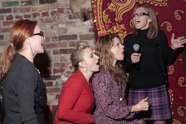 Jennifer Laura Thompson, Sarah Salzberg, Celia Keenan-Bolger, Amanda Watkins Photo