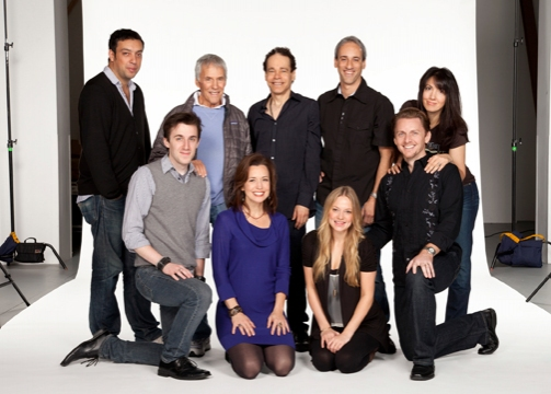 Will Frears, composer Burt Bacharach, playwright and lyricist Steven Sater, music supervisor Lon Hoyt, Andrew Mueller, Michelle Duffy, Jenni Barber and Jason Danieley