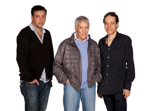 Will Frears, Burt Bacharach and Steven Sater at Meet the Cast of Old Globe's SOME LOVERS