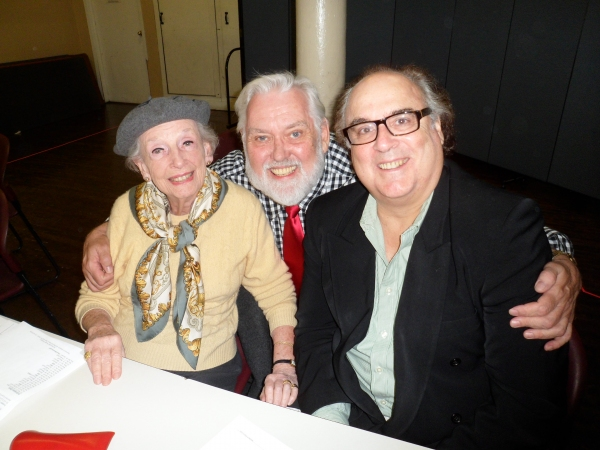 Photos: Kaufman & Hart Visit The Man Who Came to Dinner Rehearsal