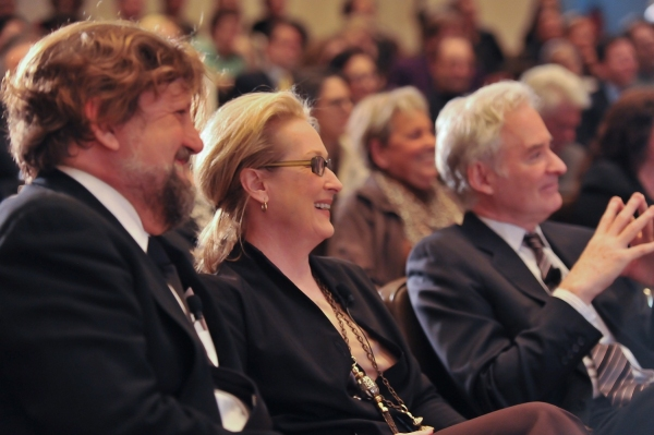Photo Flash: Meryl Streep, Kevin Kilne, et al. Celebrate Public Theater Grant