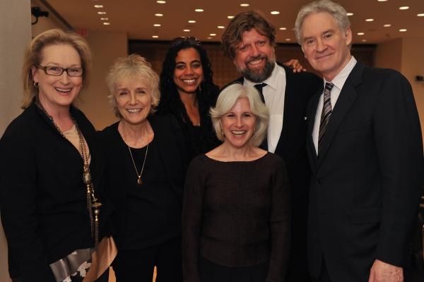 Photo Flash: Meryl Streep, Kevin Kilne, et al. Celebrate Public Theater Grant