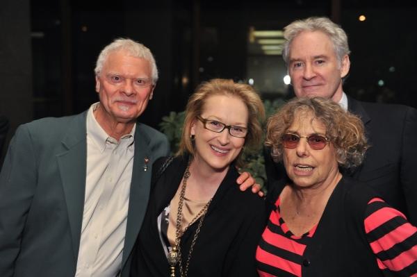 Steven Cohen, Meryl Streep, Rosemarie Tichler, and Kevin Kline