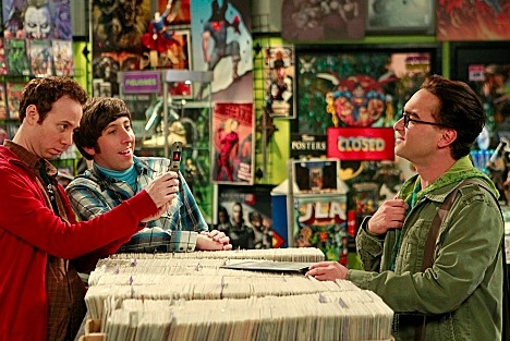 Johnny Galecki, Simon Helberg & Kevin Sussman at Halloween Spooks on Tonight's  THE BIG BANG THEORY