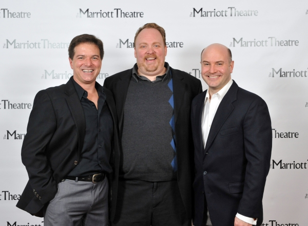 Bernie Yvon, Michael Aaron Lindner, Michael Weber at Marriott Kicks Off Holiday Season With WHITE CHRISTMAS