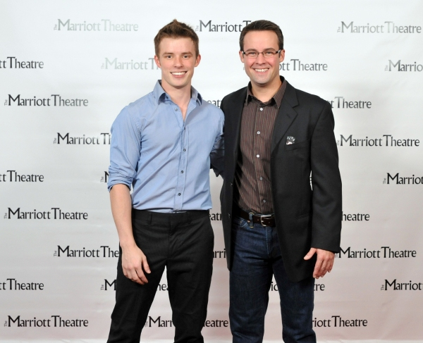 Sam Rogers and Matt Raftery at Marriott Kicks Off Holiday Season With WHITE CHRISTMAS