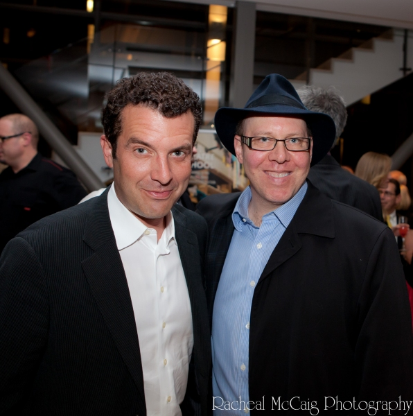 Rick Mercer and Aubrey Dan