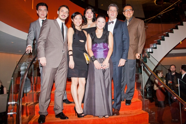 Johnny Wu, Stephen Pucci, Angela Lin, Christine Lin, Jennifer Lim, Gary Wilmes, and Larry Lei Zhang