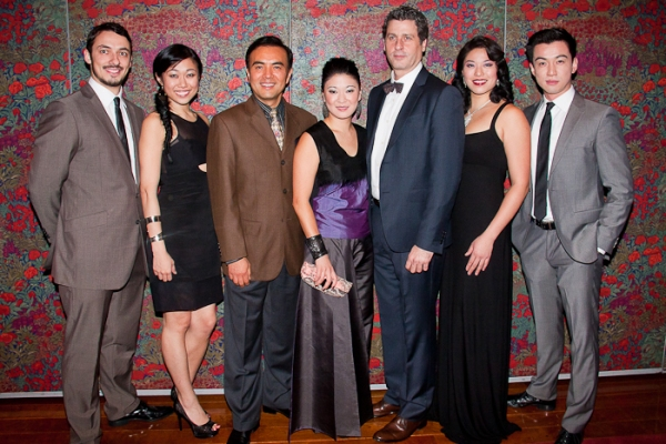Stephen Pucci, Angela Lin, Larry Lei Zhang, Jennifer Lin, Gary Wilmes, Christine Lin and Johnny Wu