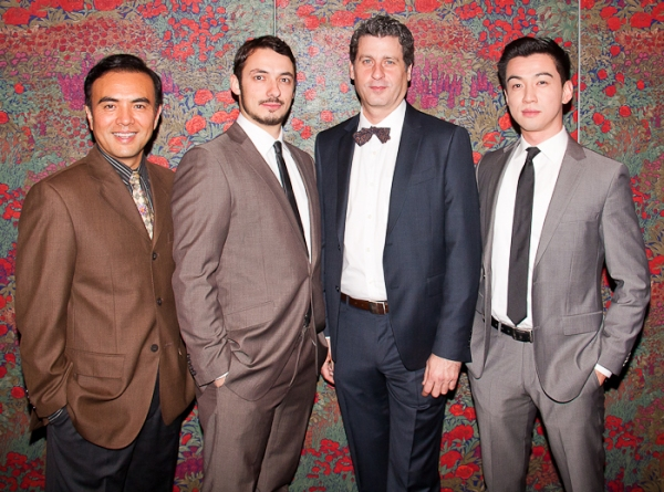 Larry Lei Zhang, Stephen Pucci, Gary Wilmes and Johnny Wu