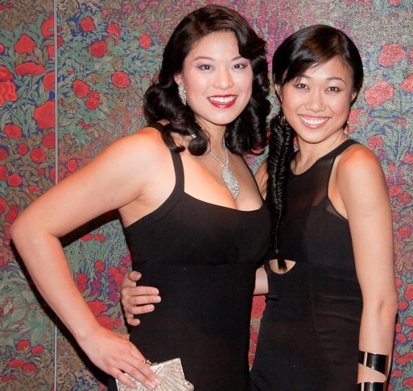 Christine Lin and Angela Lin