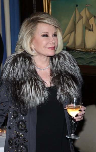 Joan Rivers at Joan Rivers Hosts Alan Shayne and Norman Sunshine's 'Double Life: A Love Story' Book Release Party