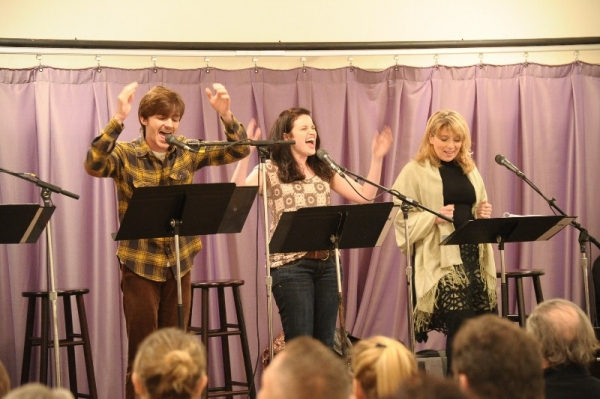 Photo Flash: TV Stars Take the Stage for John Denver's A MOMENT IN TIME Staged Reading