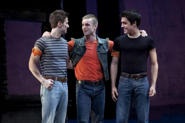 Christopher Rice, Drew Foster and Clay Thomson at New Cast Joins WEST SIDE STORY National Tour!