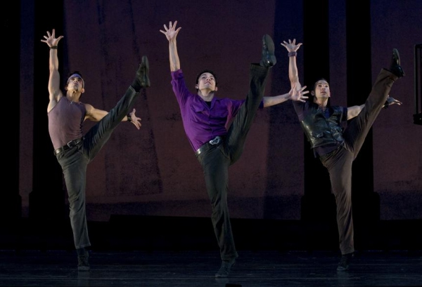 Jeffrey C. Sousa, German Santiago and Michael Scirrotto at New Cast Joins WEST SIDE STORY National Tour!