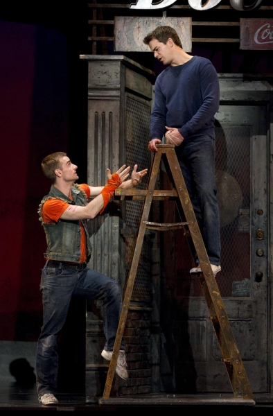 Drew Foster and Ross Lekites at New Cast Joins WEST SIDE STORY National Tour!