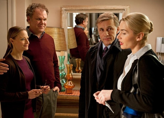 Jody Foster, John C. Reilly, Christoph Waltz & Kate Winslet at New Stills Released From Upcoming CARNAGE