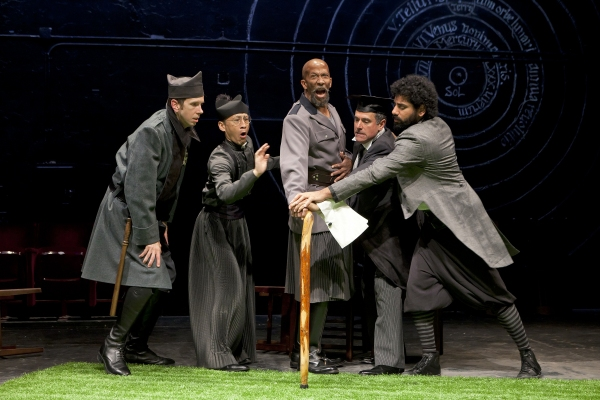 Robert Stanton, Francis Jue, Reg E. Cathey, Steven Skybell and Mousa Kraish at First Look at The Public Theater's LOVE'S LABOR'S LOST!