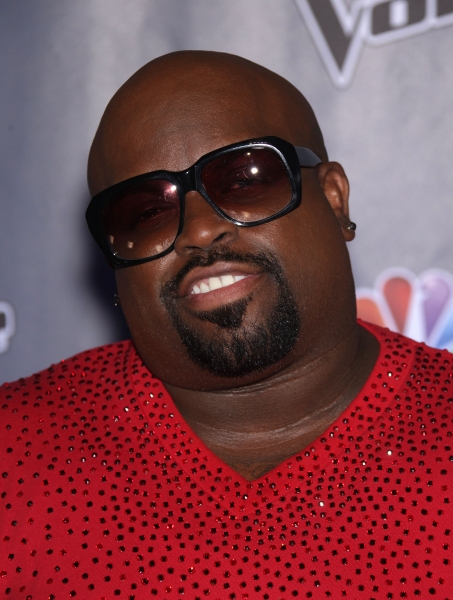 Oct. 28, 2011 - Culver City, California, U.S. - CeeLo Green arrives for the announcement of season 2 of 'The Voice' held at Sony Pictures. (Credit Image: © Lisa O'Connor/ZUMAPRESS.com)