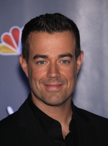 Oct. 28, 2011 - Culver City, California, U.S. - Carson Daly arrives for the announcem Photo