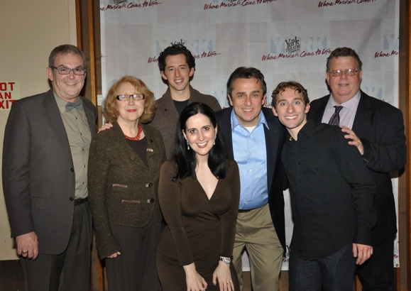 Michael Rice, Pamela Hunt, Josh Grisetti, Stephanie D'Abruzzo, Michael McCormick, Ben Liebert and James Morgan