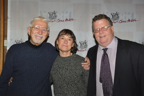 Tom Jones, Janet Watson and James Morgan