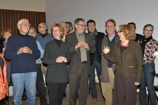 Tom Jones, Joanne Bogart, Michael Rice, Evans Haile and Pamela Hunt Photo