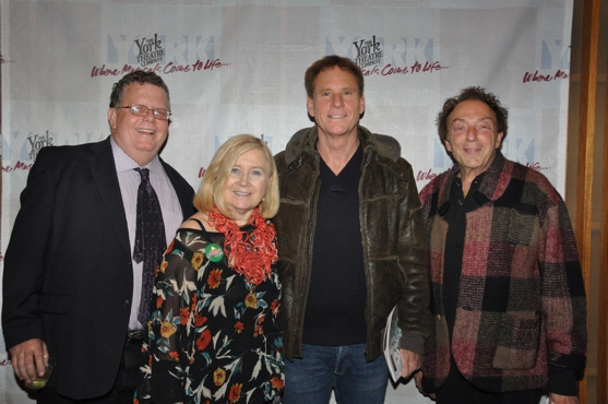 James Morgan, Pat Addiss, Gregg Rader and Marty Panzer at The York Theatre Company Presents TOMFOOLERY