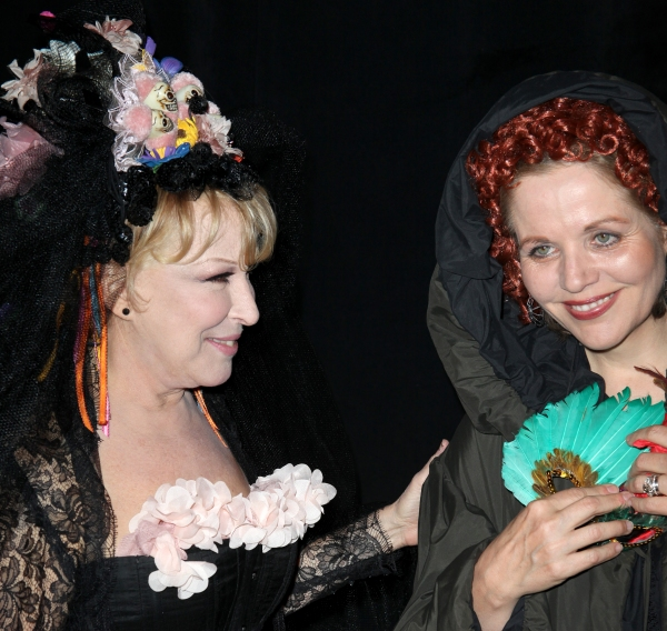 Bette Midler & Renee Fleming  at Bette Midler's 'Hulaween' Gala Benefit