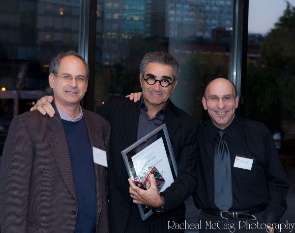 David Eisner, Eugene Levy and Avery Saltzman at Exclusive: Eugene Levy On Stage in Toronto
