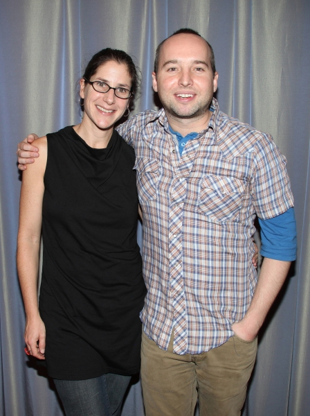 Anne Kauffman and Jordan Harrison at MAPLE AND VINE Begins Rehearsals at Playwrights Horizons