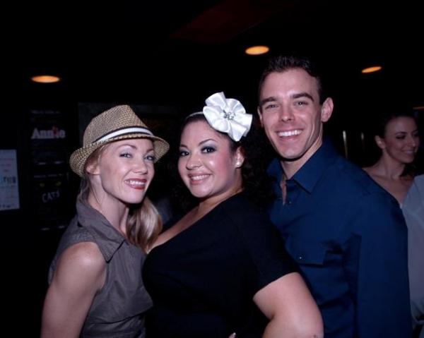 Nikki Tomlinson, Victoria Morgan and Clay Stefanki Photo