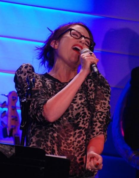 Megan Mullally at Megan Mullallay and Supreme Music Program Debut at the RRazz Room