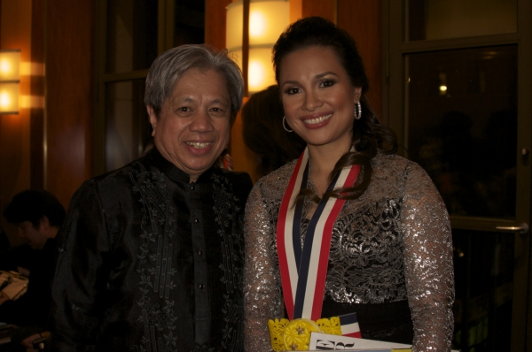 guitarist and composer Michael Dadap, Lea Salonga