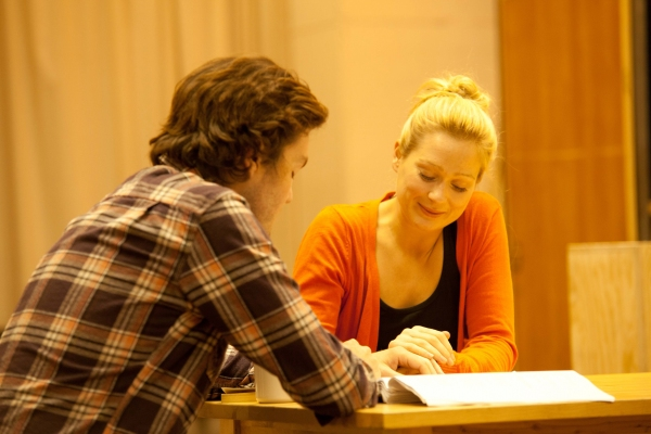 Tom Burke (Greg) and Sian Brooke (Steph)