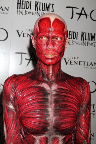 Photo Flash: Heidi Klum Hosts Halloween Party at the Venetian