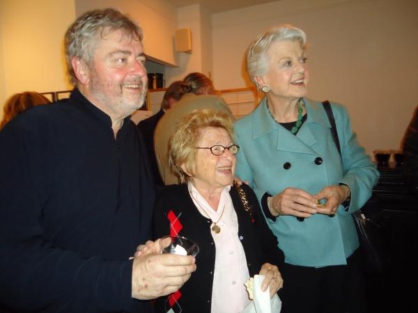 Bill Whelan, Dr. Ruth Westheimer, Angela Lansbury Photo by Merle Frimark
