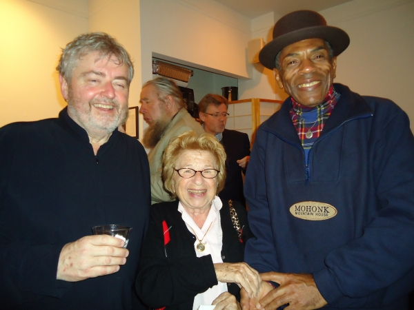 Bill Whelan, Dr. Ruth Westheimer, Andre De Shields Photo