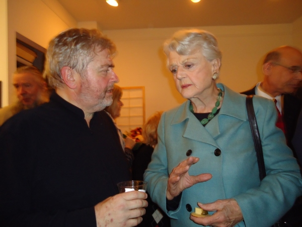 Bill Whelan, Angela Lansbury  Photo