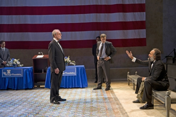 Robert Hogan, Jeremy Davidson, Bernard White at First Look at Lincoln Center Theater's BLOOD AND GIFTS