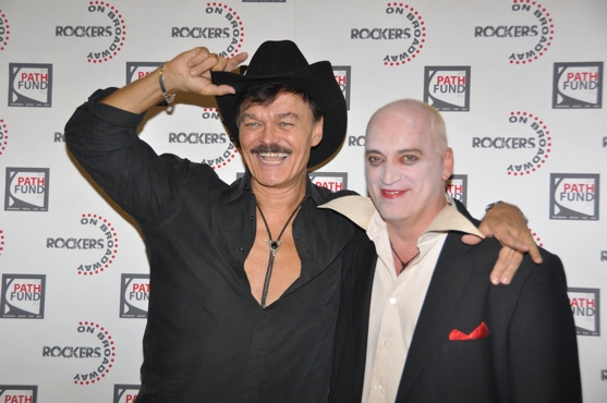 Randy Jones and Donnie Kehr at Backstage at The Rockers on Broadway Halloween Spooktacular!