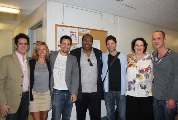 Photo Flash: Cast of THE OFFICE Visits BRING IT ON